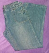 NEVER WORN size 16 Long Leg George @ Asda slouch fit indigo denim jeans BNWOT