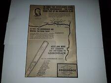 Brooklyn Excelsiors Gil Hodges Vic Wertz Del Ennis 1951 Adirondack Baseball  Ad