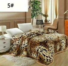 2ply Heavy Blanket Soft Thicken Warm Bedding Double Flannel Blanket King