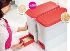 Tupperware Smart Rice Dispenser (10 Kg) FIRST In FIRST Out - Brand New -Original