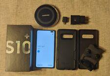 Samsung Galaxy S10+ 128GB - Prism Black (Unlocked) - Excellent Condition