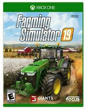 FARMING SIMULATOR 19 XBOX ONE NEW! HARVEST CROPS, TRACTOR Sealed