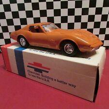 1974 Chevrolet Corvette, 1/25 scale,Dealership promotional model car, mint-cond.