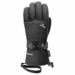Racer Women's Native Gore-Tex Ski Snowboard Glove Black Large NEW RRP £ 59.95