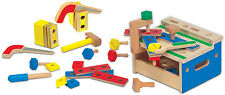 Melissa & Doug Hammer And Saw Tool Bench Baby/Toddler/Child Wooden Toys BNIP