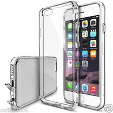Ultra Thin Soft Transparent Crystal Clear Hard Flip Case Back Cover For IPhone 6