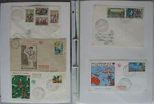 s1638) Wallis et Futuna 386 FDC 1953 - 1993 Sammlung im Album