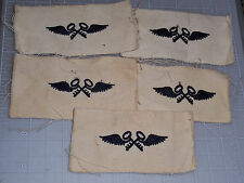 US NAVY Aviation Storekeeper rating patch; USN ASK; white twill; no glo; *ONE*
