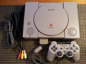 Sony PlayStation PS1 SCPH-9001 Complete Console With Controller & Cords