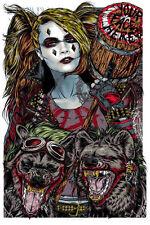 "mondo artist Rhys Cooper ""Dr Mad Love"" Harley Quinn Poster NYCC 2015 dc squad"