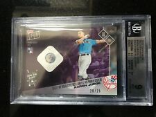 2017 Topps Now AARON JUDGE  ASG Home Run Derby RC BALL Relic /25 BGS MINT ROY