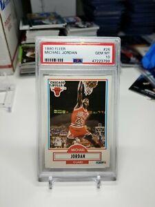 1990 Fleer Michael Jordan PSA 10 🔥🐐🔥