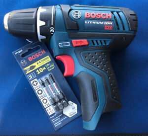 Bosch PS31 Drill/driver Cordless 2-Speed Keyless Chuck New Bare Tool Only 12V