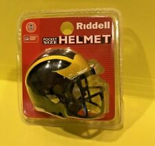 Riddell Michigan Wolverines Pocket Size Helmet New In Package