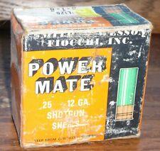 Smith & Wesson Fiocchi Power Mate 12 GA Gauge Empty Shotshell Box