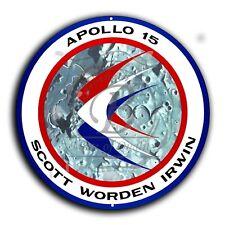 "Apollo 15 Mission Insignia (Reproduction) 11.75"" Circle Aluminum Sign"