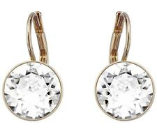 Swarovski 5256738 Earrings Bella Mini Crystal Clear Rose GLD Plate Length 1.5cm