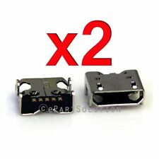 2X LG Optimus D500 P769 D415 D405 Micro USB Charger Charging Port Dock Connector