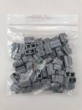 Lego 98283 - 1x2 Masonry Brick In Light Grey - NEW x50 - star wars/city/marvel