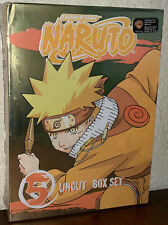Naruto Uncut DVD Box Set Volume 5