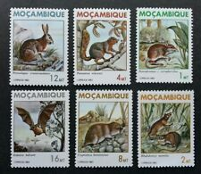 Mozambique Wild Animals 1983 Mammals Bat Rabbit Squirrel (stamp) Mh