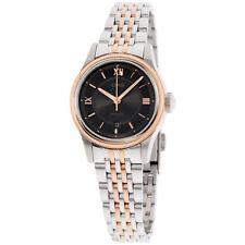 Oris Classic Date Grey Black Dial Stainless Steel Ladies Watch 56177184373MB