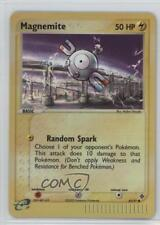 2003 Pokémon EX Dragon Booster Pack Base Reverse Foil #62 Magnemite Card 2f4