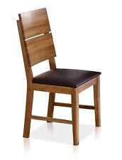 KAI Massivholz Stuhl Esstischstuhl Esszimmerstuhl Wildeiche geölt braun Stühle