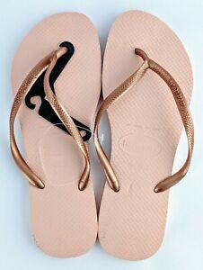 Havaianas Thongs Slim Rose Pink Size 41/42 NEW