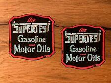 2x Gasoline Aufkleber Öl Sticker Oil Slick Hot Rod USA Auto Tuning Retro V8 #831