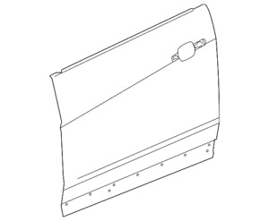 Genuine GM Outer Panel 20921334