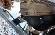 KLARGLAS SCHEINWERFER OPEL ASTRA H TAGFAHRLICHT TFL-LOOK BLACK SCHWARZ + MOTOR