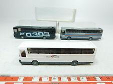 BB265-0,5# 3 x Wiking H0/(1:87) 712 Autobus Mercedes-Benz/MB O 303, W+