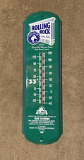 Rolling Rock Latrobe Brewing Co. Thermometer Vintage 1992