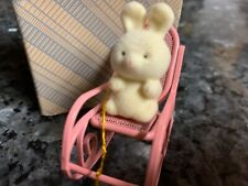 Avon Gift Collection Spring Bunny Collection Bunny In Rocker New