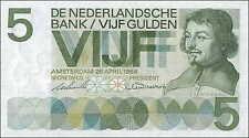 Niederlande / Netherlands 5 Gulden 1966 Pick 090a (1)