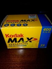Kodak MAX 400 24 exposure sealed in box Film