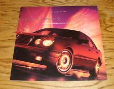 Original 1997 Mercedes Benz E420 Deluxe Sales Brochure 97