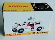 Dinky 250 Police Mini Cooper Empty Repro Box Only