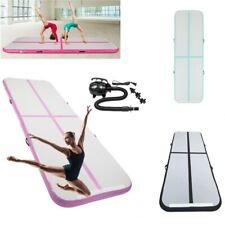 3M Air Track Floor Inflatable Airtrack Gymnastics Exercise Tumbling Mat +Pump UK
