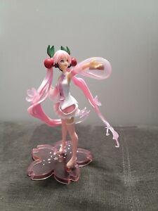 VOCALOID Hatsune Miku Sakura Pink Cherry Blossom Dress Action Figure Gift 7'' US