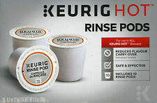 Keurig Hot Rinse Pods 10 to 40 K cups Reduce Flavor Carry-Over Between Brews