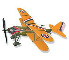 P-6E Bi-plane Rubber Band Powered Model History Airplane Kit: Lyonaeec 22002 G2