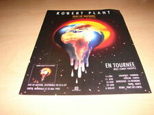 ROBERT PLANT - FATE OF NATIONS !!!!!FRENCH PRESS ADVERT