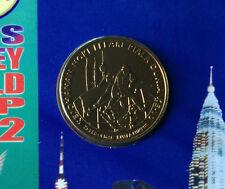 10th Men's Hockey World cup 2002 rm1 coin in folder BU!