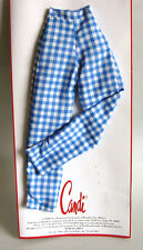 "White Pants Pink Check Shorts CANDI 16/"" fits Fashion Dolls Tyler Gene Alex Elle"