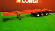 Corgi Heavy Haulage Modern Trucks Skeletal Trailer Mint For Code 3 1/50