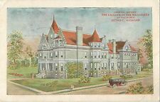 1910 Knights Of The Maccabees Offices - Detroit, Michigan Postcard