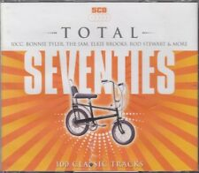 Total Seventies 70's 5CD Thin Lizzy David Bowie Jam Moody Blues Michael Jackson