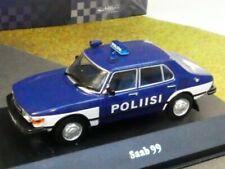 1/43 Ixo Saab 99 Poliisi Finnland POLICE CARS 8014